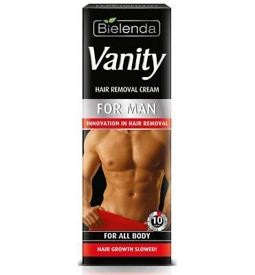 Bielenda Vanity Innovation MEN Instant Painless Body Hair Removal Cream