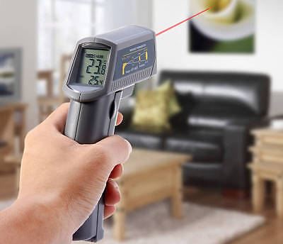 MS6530 Non – Contact Infra-red IR Thermometer with Laser Targeting & Digital ...