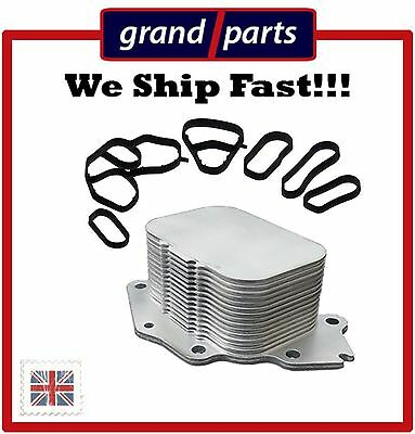 Oil Cooler PEUGEOT 206 207 208 307 308 407 508 1007 2008 1.6DHi + GASKETS
