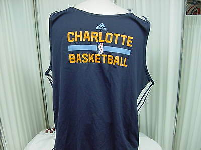 b565b75cb34 Official NBA Charlotte Bobcats Team Issued Adidas Reversible Practice Jersey