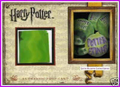 Harry Potter GoF Potter Stinks SDCC Prop Card Variant
