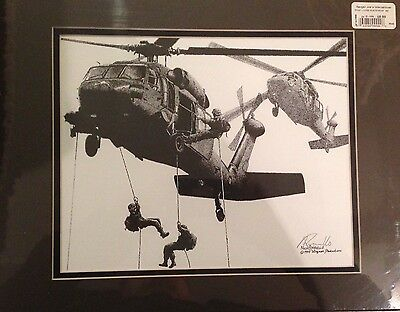 BLACKHAWK FAST ROPING-NAVY SEALs-US ARMY SPECIAL FORCES-Rangers-US MARINES Recon