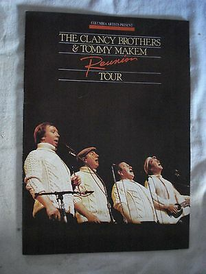 Clancy Brothers & Tommy Makem Reunion Tour. Flint Center, Cupertino, CA 1985