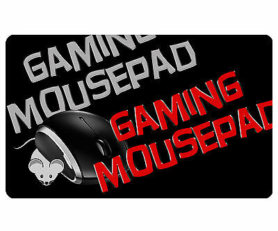 Mouse Pad Ex-Large Photo Custom Personalized Gaming Mousepad Add Text/ Picture
