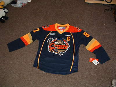 Connor Mcdavid #97 Erie Otters Navy Premier Ccm Hockey Jersey Small Nwt