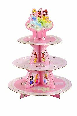 Wilton 3 Tier Disney Princess Cupcake Stand, Party Suplies