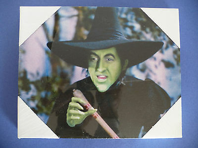 Wizard of Oz Bad Witch of the West Canvas Print Wall Hanging Art. Wicked Witch