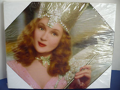 "Wizard of Oz Glinda the Good Witch Canvas Print Wall Hanging Art. 8"" x 10"""