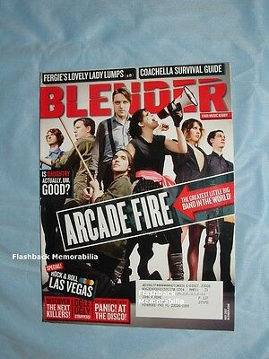 ARCADE FIRE 2007 BLENDER MAGAZINE Coachella DAUGHTRY Panic At The Disco VEGAS