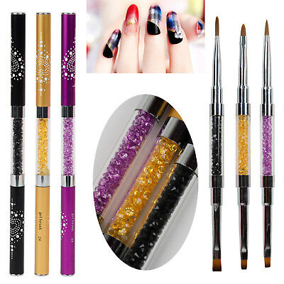 1tlg Malerei Pinsel Nail Art UV Gel-Pinsel Design Pen Pinsel Set Nageldesign