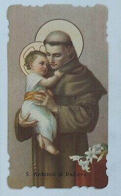 38518 Holy card - Santino 1084 - sant'antonio