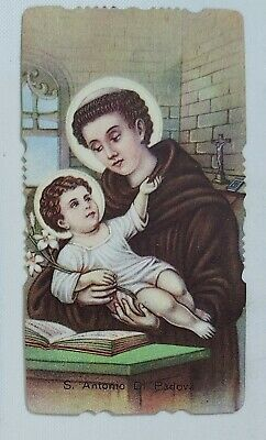 38517 Holy card - Santino 1083 - sant'antonio