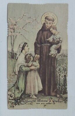 38514 Holy card - Santino 1080 - sant'antonio