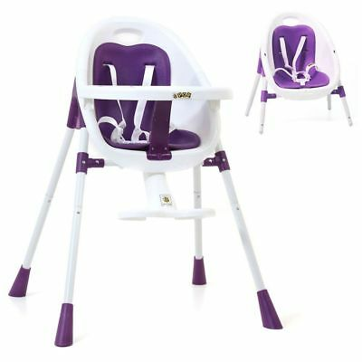 Vee Bee Pop2 3 In 1 High Chair (Purple)