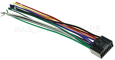 wire harness for jvc kd-sr40 kdsr40 *pay today ships today*