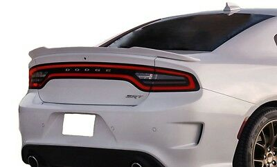 Fits: Dodge Charger 2015+ Hellcat Style Flush Mount Rear Spoiler Primer Finish