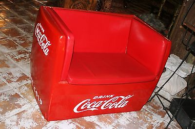 VINTAGE WESTINGHOUSE COCA COLA Coke ICE BOX Chest Cooler Couch