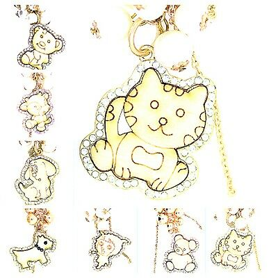 Charmantes chat chaton vache chien ours peluche ours chiot agneau main collier