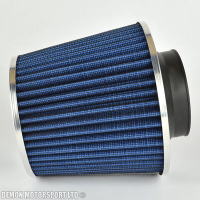 Universal Twin Cone Air Filter Blue 70mm / 2.75 inch Inlet (P/N 76289)