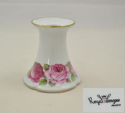 Royal Limoges France - Rose de Paris - Kerzenhalter