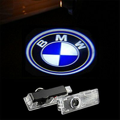 2x Laser LED Door For BMW M sport Motorsport Projector Shadow Light Lamp Logo M