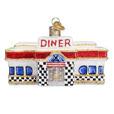"""Diner"" (20071)X Old World Christmas Glass Ornament w/OWC Box"