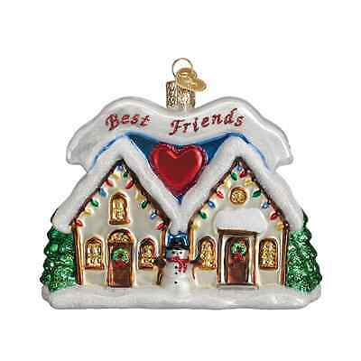 """""""Friendship House"""" (20067) Old World Christmas Ornament"""