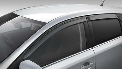 Genuine Toyota Corolla Hatch Slimline Weathershields (March 2015 - Current)