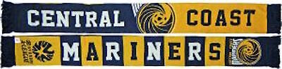 Central Coast Mariners FC Banner Jacquard Scarf Official New A-League Sekem