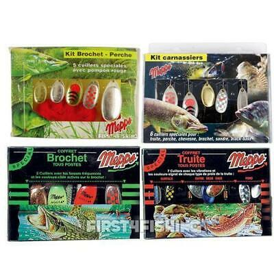 Mepps Lure / Spinner Kits - Trout Pike Perch Zander Bass Predator Fishing Tackle