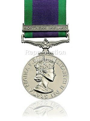 Full Size General Service Medal 1962 GSM with Northern Ireland Clasp