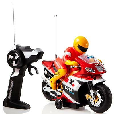 Dimple Radio Control Motorcycle with Driver  Lights and Sound Effects DC4971