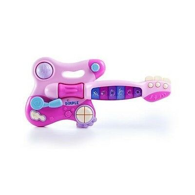 Dimple Toddler Electronic Toy Guitar with Music and Lights DC5145