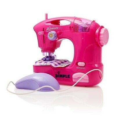 """Dimple Toy Battery Operated 7"""" Sewing Machine DC11552"""