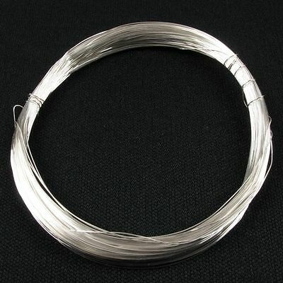 High Quality Superior Non Tarnish Jewellery Craft Artists Silver Plated Wire