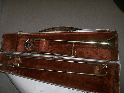 Olds Ambassadore trombone w/case as found