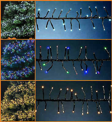 New Led Cluster Christmas Tree 288/360/480/720/960 Led Lights Party Outdoor Xmas