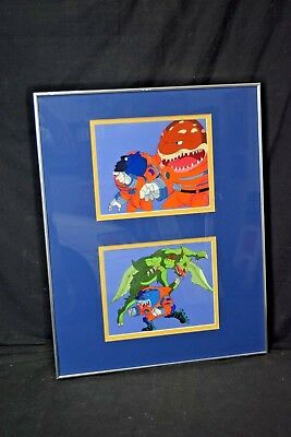 Street Sharks production cels,drawings