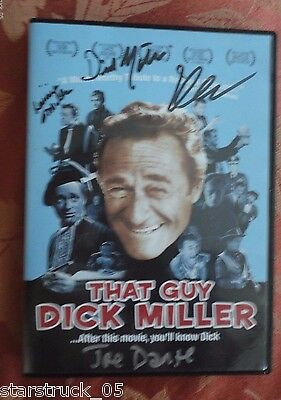That Guy Dick Miller Signed Dvd Dick & Lainie Miller, Joe Dante Plus 2 Others