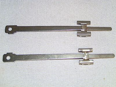 LIONEL 384 390 Standard Gauge Nickel Main Rod and Crosshead PAIR R & L NOS!