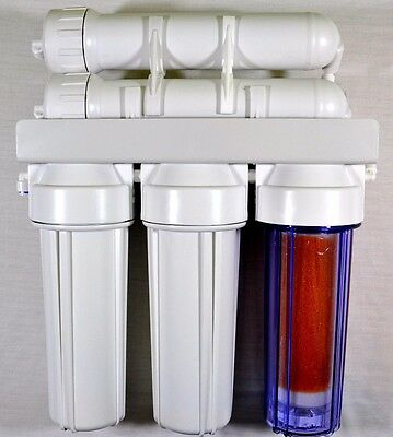 300GPD 4 Stage Reverse Osmosis & DI Water Filter System Window Cleaning Aquarium