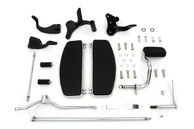 Complete Floorboard Kit For Harley Dyna Floorboards Fits 1996-2017 Dyna