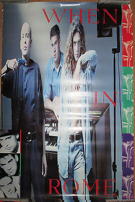 NOT WAS What Up Dog? 1989 24x36 EX! WAS Polydor promotional poster