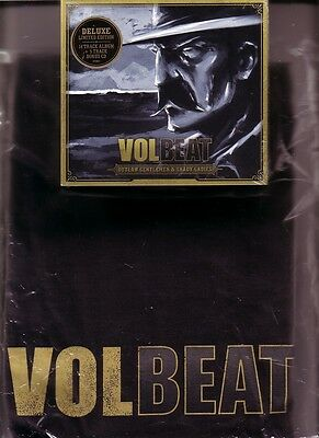 """VOLBEAT """"Outlaw Gentlemen & Shady Ladies"""" Limited Edition 2 CD +  T-Shirt"""
