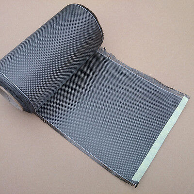 High-Quality 3K 200gsm Real Carbon Fiber Cloth Carbon Fabric plain Tape 8""
