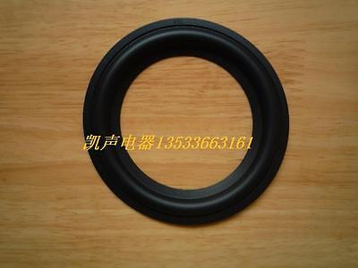 """A pair NEW 4"""" 4 inch Repair woofer / Speaker Soft Rubber Surrounds #Z075 ZY"""