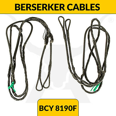 Upgraded Berserker Compound Bow Cables - BCY 8190F - Buss Cables - Apex Hunting