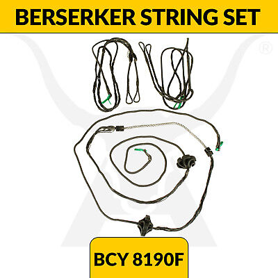 Upgraded Berserker Compound Bow String Set - BCY 8190F - Full set - Apex Hunting