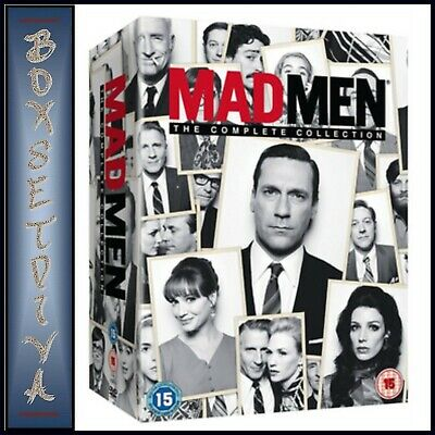 Mad Men - The Complete Collection Seasons 1 2 3 4 5 6 & 7  *Brand New Dvd****