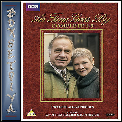 As Time Goes By - Complete Seasons 1 2 3 4 5 6 7 8 & 9  *Brand New Dvd Boxset***